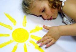 аллергия на солнце у ребенка